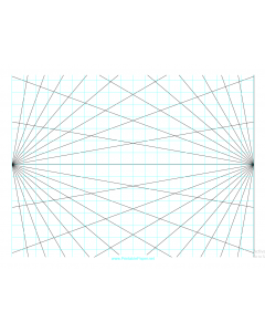 Perspective grid – 2-point